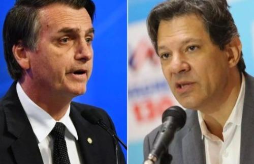 Haddad e Bolsonaro (Foto: Divulgação) - Foto: Divulgação
