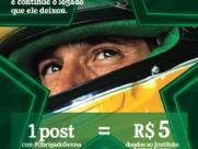 Heineken em homenagem os 25 anos da morte de Senna