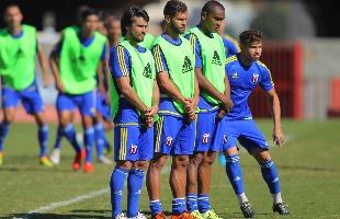 F.L.Piton / A Cidade - Hélton Luiz, Augusto Ramos, Isac e Diogo Campos se preparam para outra batalha: o Juventude, lá em Caxias do Sul