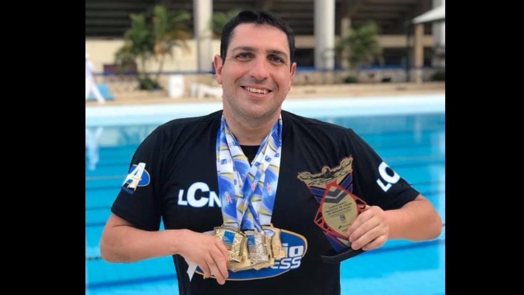 Henrique Nasser ganhou cinco medalhas de ouro e uma de prata. Foto: Arquivo pessoal - Foto: Foto: Arquivo pessoal