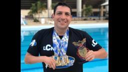 Paratleta de São Carlos ganha 6 medalhas no Paulista de Natação