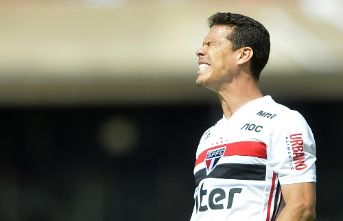 Hernanes, do São Paulo, lamenta - Foto: Foto: Mauro Horita/Folhapress