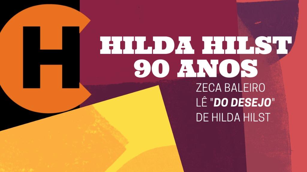 Zeca Pílula 001 - Foto: Instituto Hilda Hilst