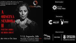 Teatro Digital Ao Vivo: A Obscena Senhora H