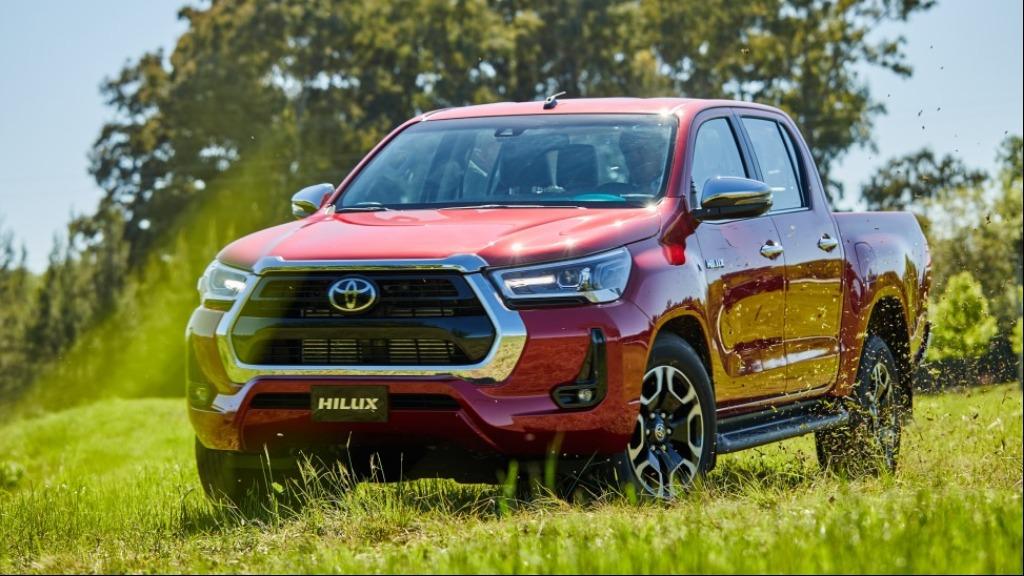 Toyota Hilux 2021 - Foto: Divulgação