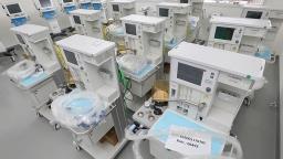 Cidade conta hoje com 148 respiradores nas unidades de saúde