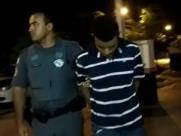 Homem é preso após roubar sorveteria com arma falsa