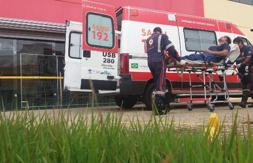 ACidade ON - São Carlos - Homem sofreu queda durante o trabalho em São Carlos