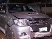 Caminhonete com placas de Ribeirão é apreendida em crime na Capital