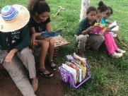 """Horta Comunitária da Zona Norte promove """"Leiturada"""" para as crianças"""