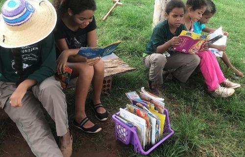 Horta Comunitária da Zona Norte promove Leiturada para as crianças (Foto: Divulgação) - Foto: Divulgação