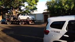 Veículo roubado é localizado pela PM abandonado em Rincão