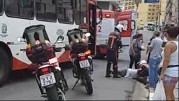 Idoso é atropelado por ônibus no Centro de Campinas
