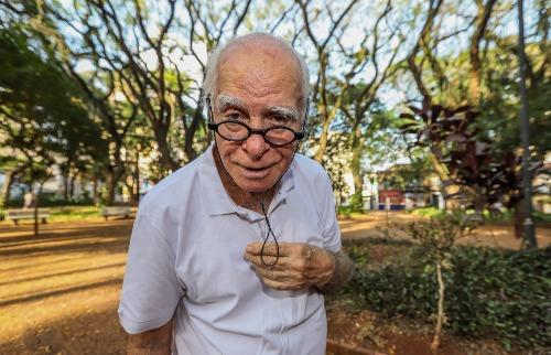 Ignácio de Loyola Brandão é o novo imortal (Foto: Amanda Rocha) - Foto: ACidade ON - Araraquara
