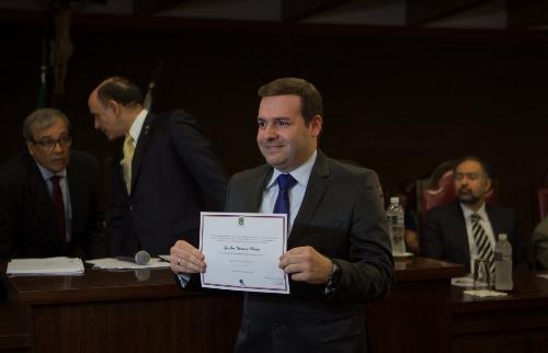 Weber Sian / A Cidade - DEM confirma apoio a Igor Oliveira para presidência da Mesa Diretora