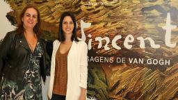Vernissage Paisagens de Van Gogh reúne convidados no Iguatemi