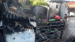 Incêndio atinge residência no Jardim Andrade em Pedreira