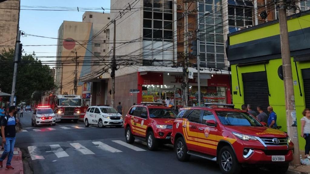 Princípio de incêndio mobilizou Bombeiros (Foto: Redes Sociais) - Foto: ACidade ON - Ribeirão Preto