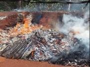 Incêndio em Ecoponto do Parque Delta assusta moradores