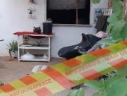 Mulher fica presa em casa que pegou fogo no Jd. Marisa