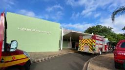 Após incêndio, atendimento é suspenso em farmácia de UBDS