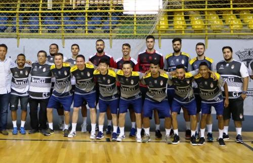 Prefeitura apresenta equipe do INTELLI/São Carlos. Foto: Divulgação/ Prefeitura de São Carlos - Foto: Divulgação