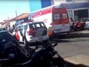 Ataque a carro-forte leva pânico a Guariba; bandidos ferem segurança e fogem sentido Araraquara