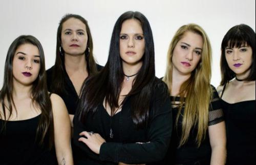 Única banda de tributo feminina ao Iron Maiden na América Latina se apresenta em Ribeirão (Foto: Divulgação). - Foto: Divulgação