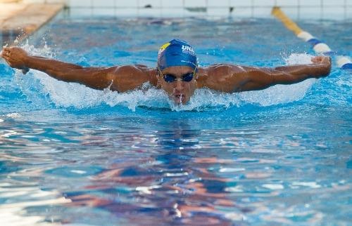 Matheus Urenha / A Cidade - Nadador Ítalo Amaral é destaque da equipe de Ribeirão Preto e tenta nadar abaixo dos50 segundos a exemplo de Nicholas Santos