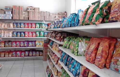 Da reportagem - Itens de alimentação são os mais vendidos