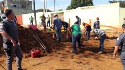 Operário é soterrado durante obra e resgatado com vida em Itirapina
