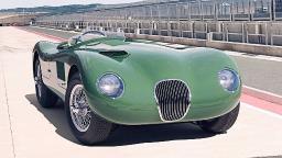 Esportivo Jaguar C-Type dos anos 50 volta a ser fabricado