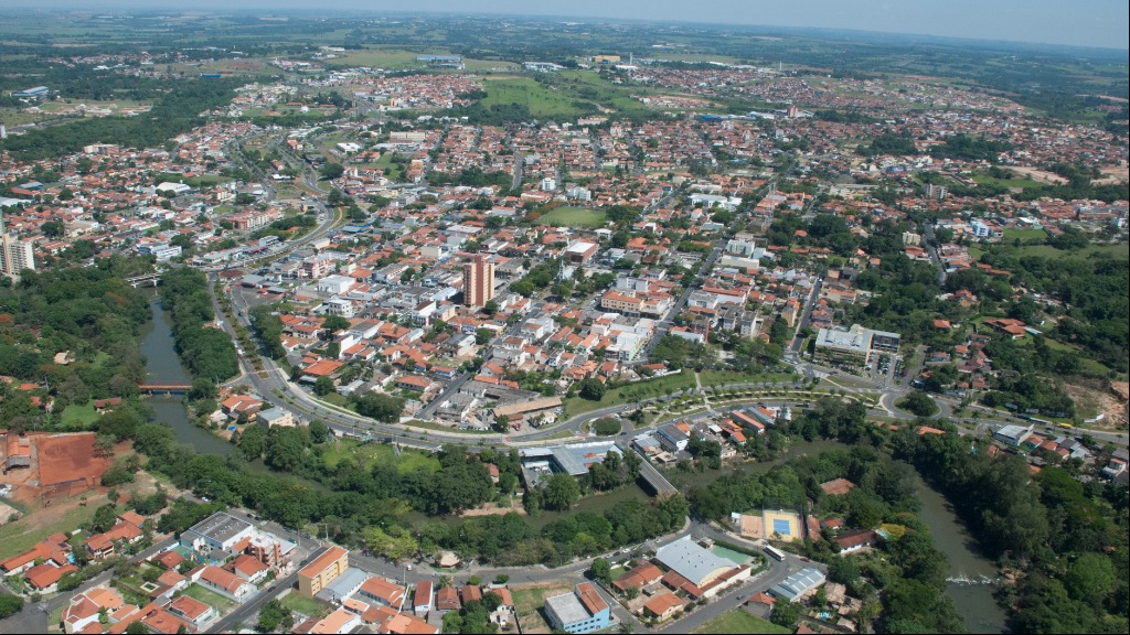 Vista aérea de Jaguariúna (Foto: Divulgação/ Ivair Oliveira) - Foto: Divulgação