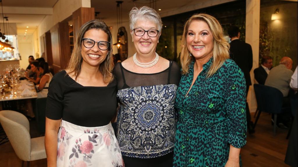 Melissa de Jesus, Roseli Grassmann e Antonia Maria Zogaeb - Foto: Guilherme Gongra