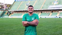 Guarani confirma a contratação do atacante João Paulo