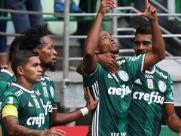 Jogadores do Palmeiras comemoram gol contra Ferroviária (Agência Palmeiras) - Foto: Divulgação