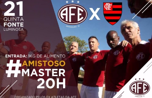 ACidade ON - Araraquara - Jogo de ex-atletas acontece nesta quinta-feira (21), na Arena da Fonte (Divulgação)