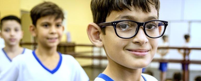 José Felisbino foi escolhido para estudar ballet na escola Bolshoi em Joinville (SC)  - Foto: Da reportagem