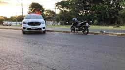 Motociclista fica gravemente ferido em acidente na Manoel de Abreu