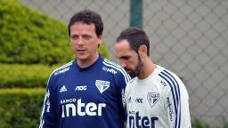 """Diniz vê """"melhor jogo"""" do São Paulo sob seu comando"""