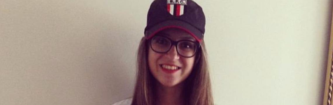 Júlia Gracioli Vasconcellos estava em van que capotou na noite de sábado (22) - Foto: Reprodução / Facebook