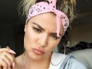 Khloé Kardashian afirma estar triste pela política brasileira