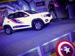 Renault lançou versão inspirada em super-heróis (foto: Divulgação) - Foto: Divulgação
