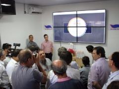Lançamento APP e Central de Monitoramento da Suzantur, em São Carlos (Fonte: Colaboração / Maurício Duch) - Foto: Colaboração / Maurício Duch)