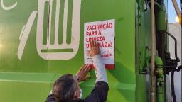 Trabalhadores da limpeza urbana em Ribeirão cobram vacinação
