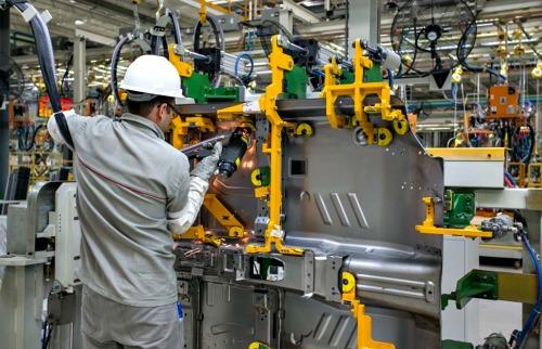 Linha de produção industrial. Foto: Fotos Públicas - Foto: Fotos Públicas