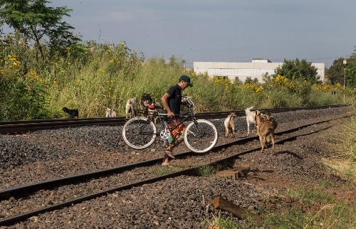 Weber Sian / A Cidade - Moradores reclamam que travessia sobre linha férrea é trabalhosa