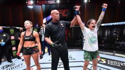 Em decisão unânime, Livinha Souza vence em retorno ao UFC