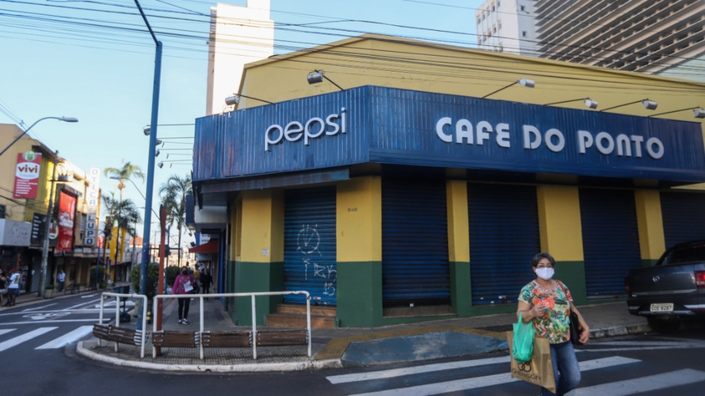 Lojas e bares fecharam na quarentena (Foto: Amanda Rocha/ACidadeON) - Foto: Amanda Rocha