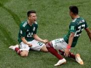 Atual campeã, Alemanha cai diante do México na estreia da Copa em Moscou